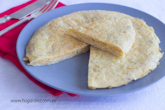 Tortilla de patatas chips