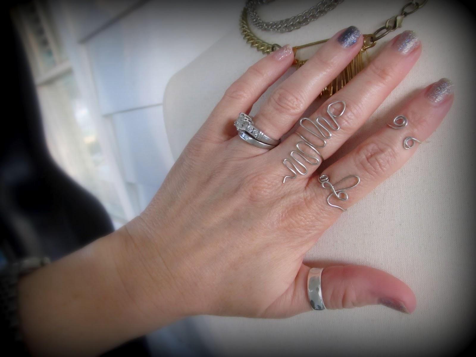 WobiSobi Snake Wire Ring DIY