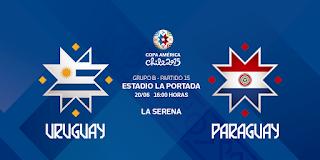 Uruguay vs Paraguay en vivo