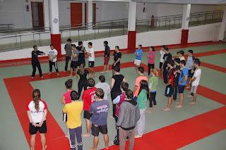 Excursion de TAFYD a txuriurdin y centro de artes marciales de donosti