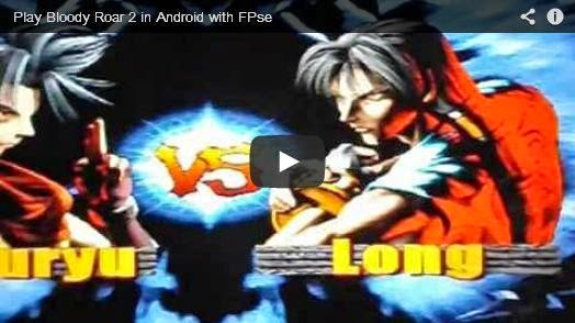 Play PSX game Bloody Roar 2 in Android