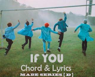 Chord and Lyrics BIGBANG ~ If You