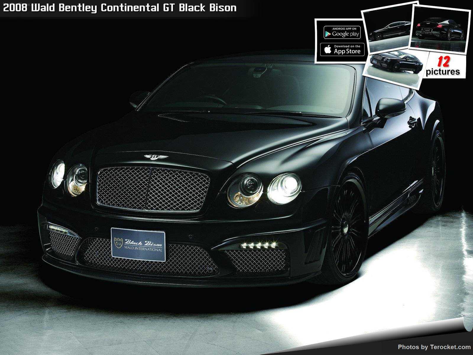 Hình ảnh xe độ Wald Bentley Continental GT Black Bison 2008 & nội ngoại thất
