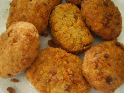 Nuggets de PVT (vegana)