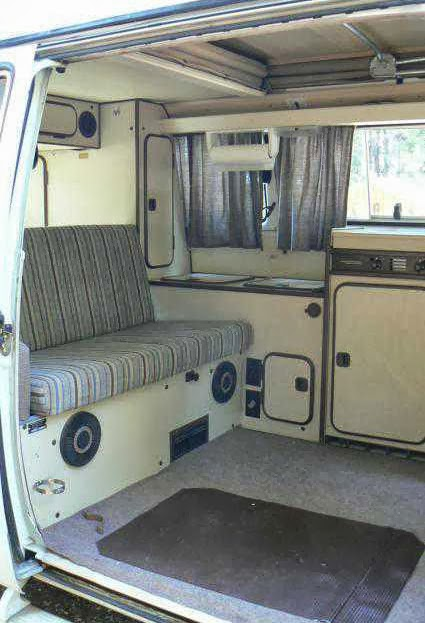 1984 vw westfalia camper vanagon buy classic volks for Interior westfalia