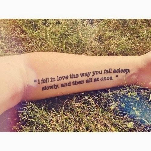 Tatuajes literarios