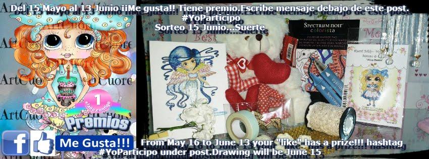 Aniversario My Besties Art España participa en el sorteo con un like  en nuestra página y un mensaj