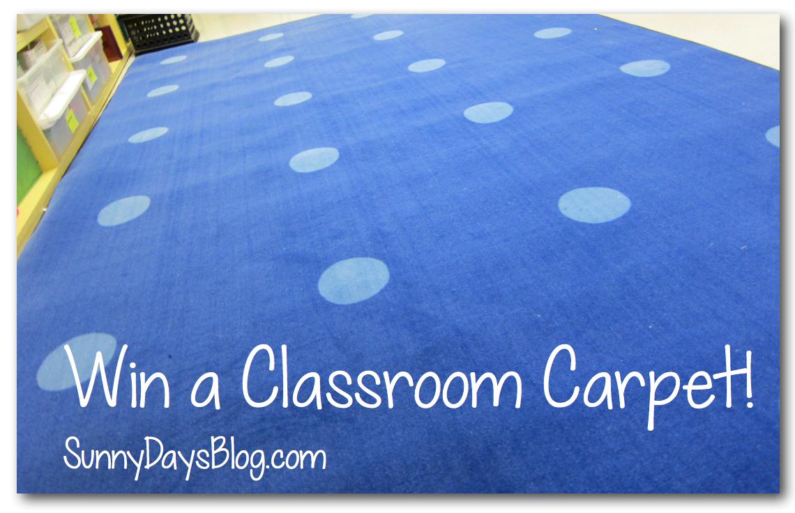 win a classroom carpet