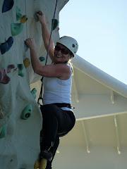 Me rock climbing!!