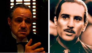 Cambio de actores en El Padrino, Corleone, De Niro, Marlon Brando