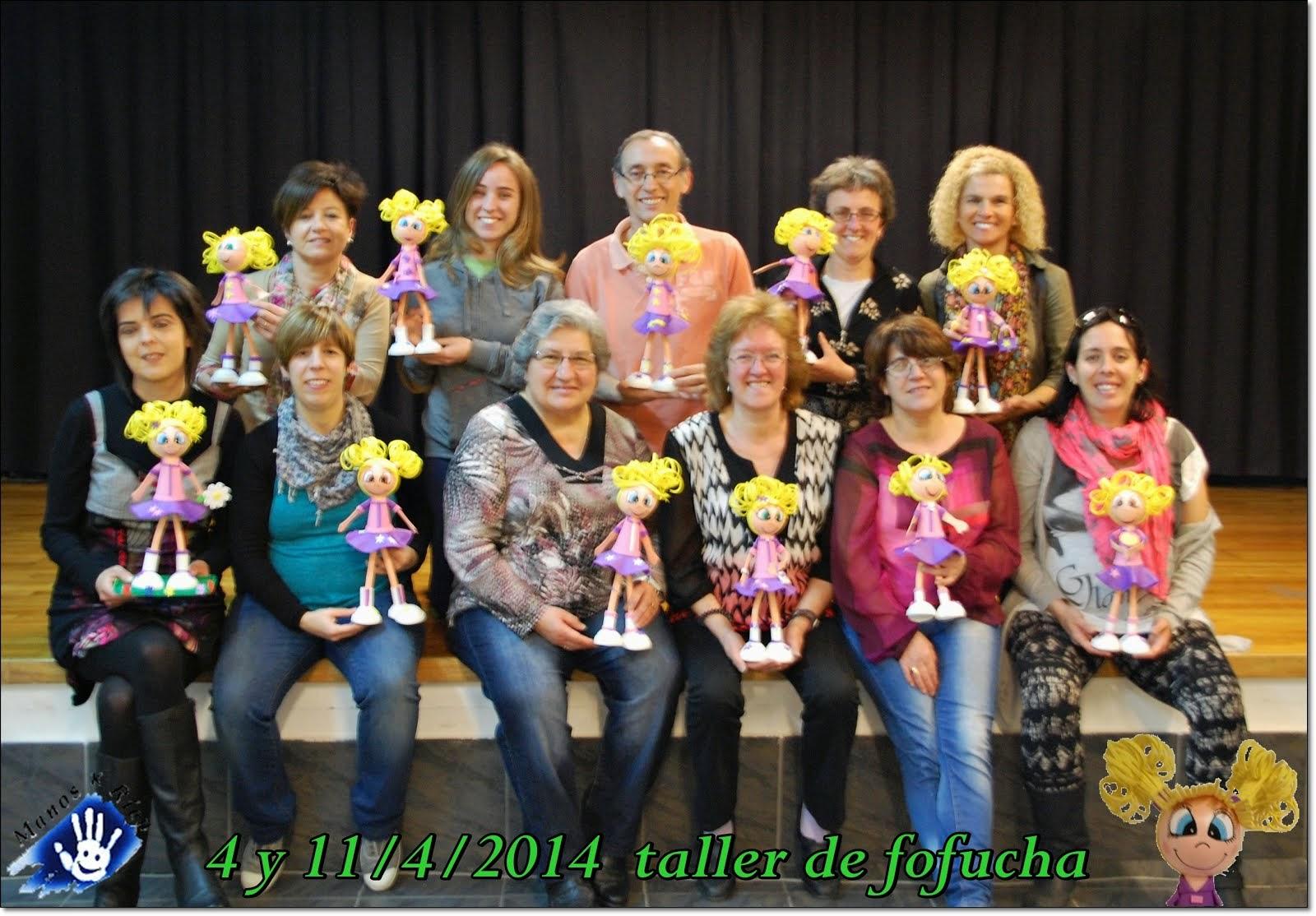 taller de fofucha 2014