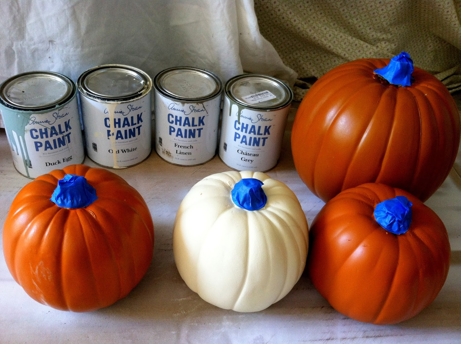 Chelsea 39 S Garage Pretty Painted Pumpkins