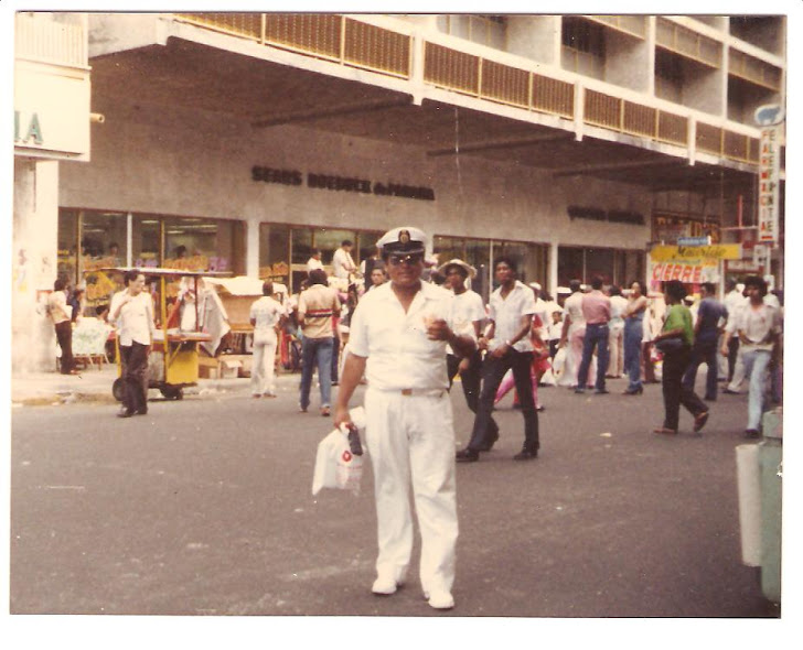 César Rivera - Panamá - Año 1985