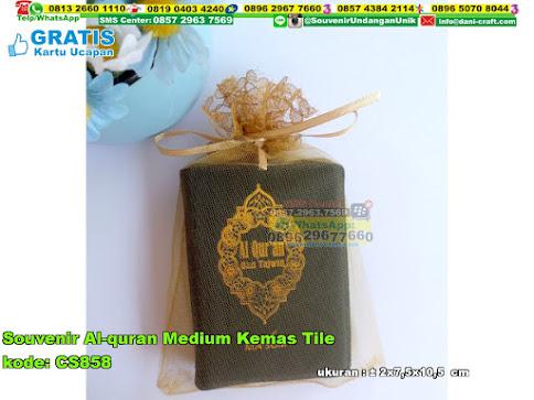 Souvenir Alquran Medium Kemas Tile