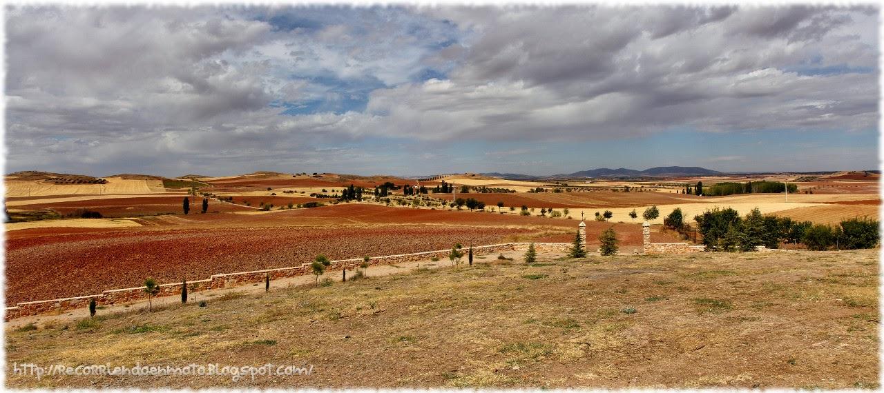 Panoramica campo de montiel desde Fuenllana