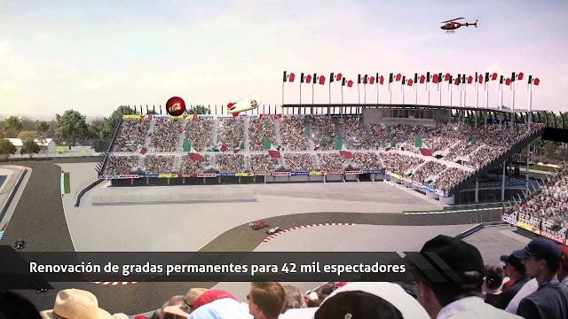 Modificaciones Autódromo Hermanos RodrÍguez F1