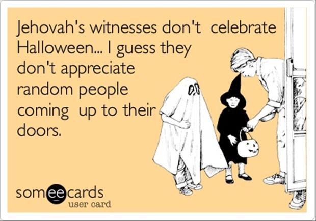 Funny Halloween Classic Ecard