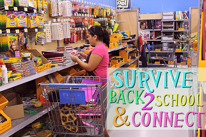 Survive Back To School with an age-appropriate schedule and timeto connect. #MyGoodLife #CollectiveBias #Shop
