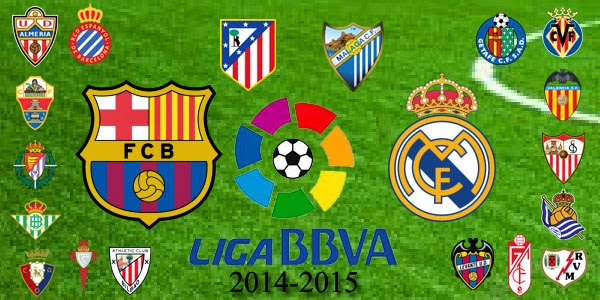 Klasemen La Liga Spanyol 2014-2015