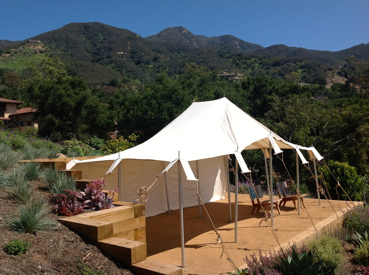 Bedouin Tent from Armbruster. Canvas reinforcing bands like originals & Bedouin Tent from Armbruster | Armbruster Tent Maker