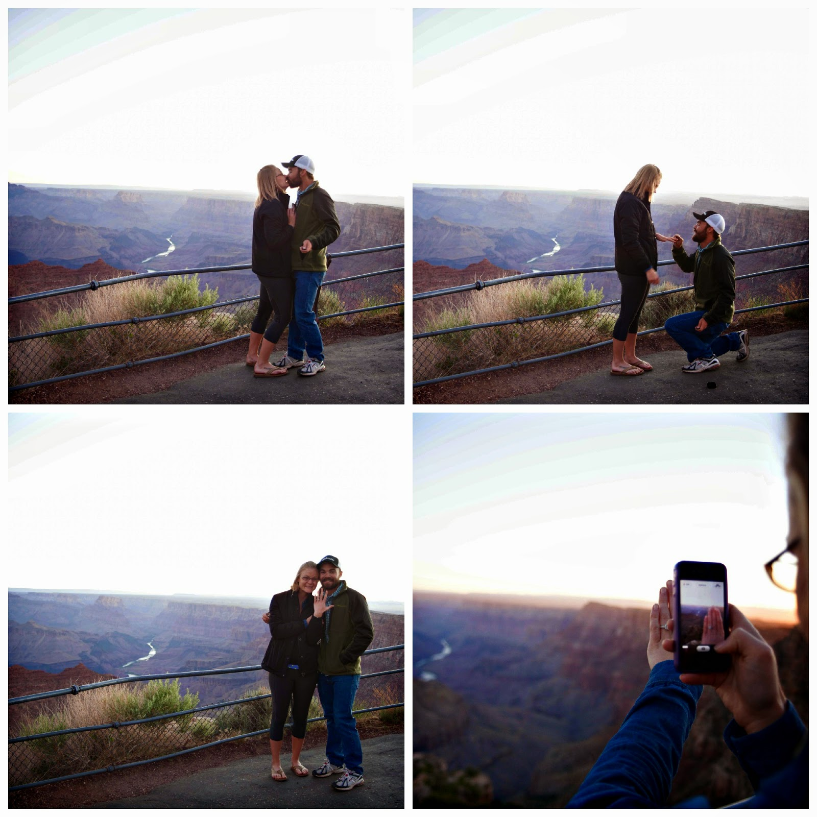 Grand Canyon Sunrise Engagement