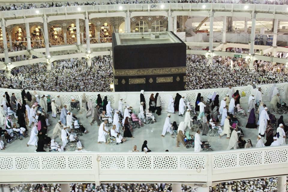 foto masjidil haram terbaru 2015, ka'bah, Mekah