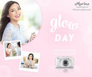 Info Kontes - Kontes Cerita Cerah Marina Glow Your Day Berhadiah kamera Nikon Coolpix S33