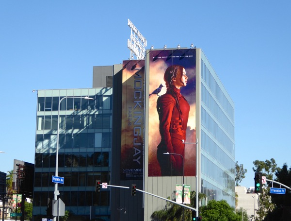 Hunger Games Mockingjay Part 2 billboard