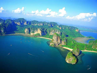 wisata, rayavadee, tanah princess, thailand, berita,