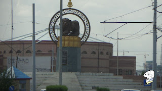 Monument to Lion Talisman of Bayanzurkh District