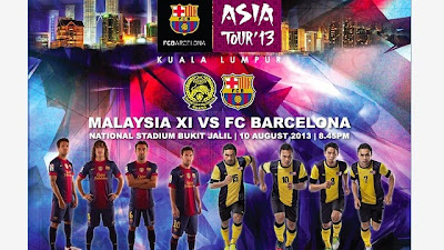malaysia vs barcelona 10 ogos 2013, perlawanan persahabatan malaysia vs barcelona, malaysia lwn barcelona live, stadium perlawanan malaysia vs barcelona ditukar, stadium malaysia vs barcelona tukar, waktu perlawanan malaysia vs barcelona