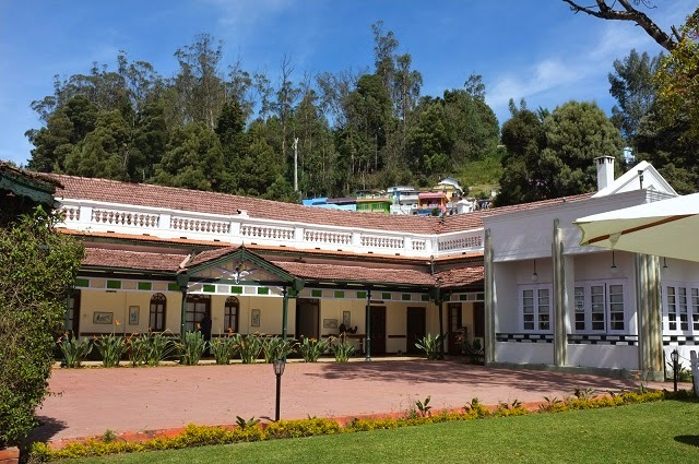 Front View of Taj Savoy Heritage Hotel in Ooty