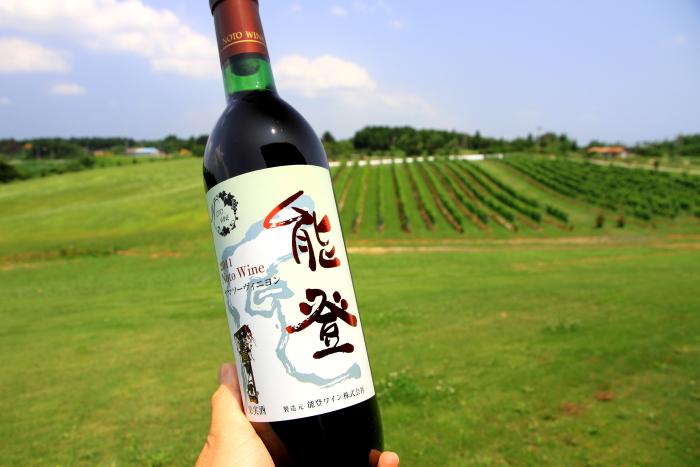 能登半島(石川県)の農家民宿が位置する能登町の隣穴水町にある能登初のワイナリ 能登ワイン. The first winery on noto peninsula, ishikawa prefecture, Japan