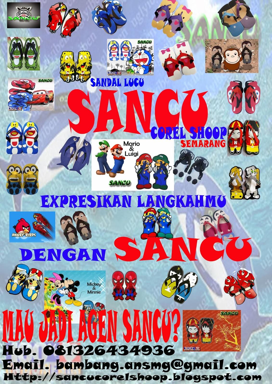 SANCU ( SANdal luCU ) 081326434936