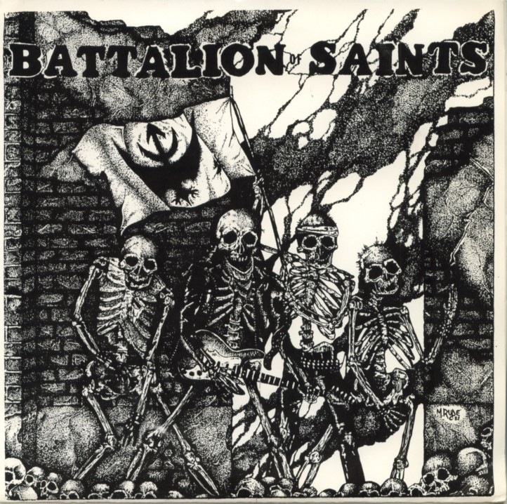 BATTALION OF SAINTS - The Best Of The... LP (Bootleg)