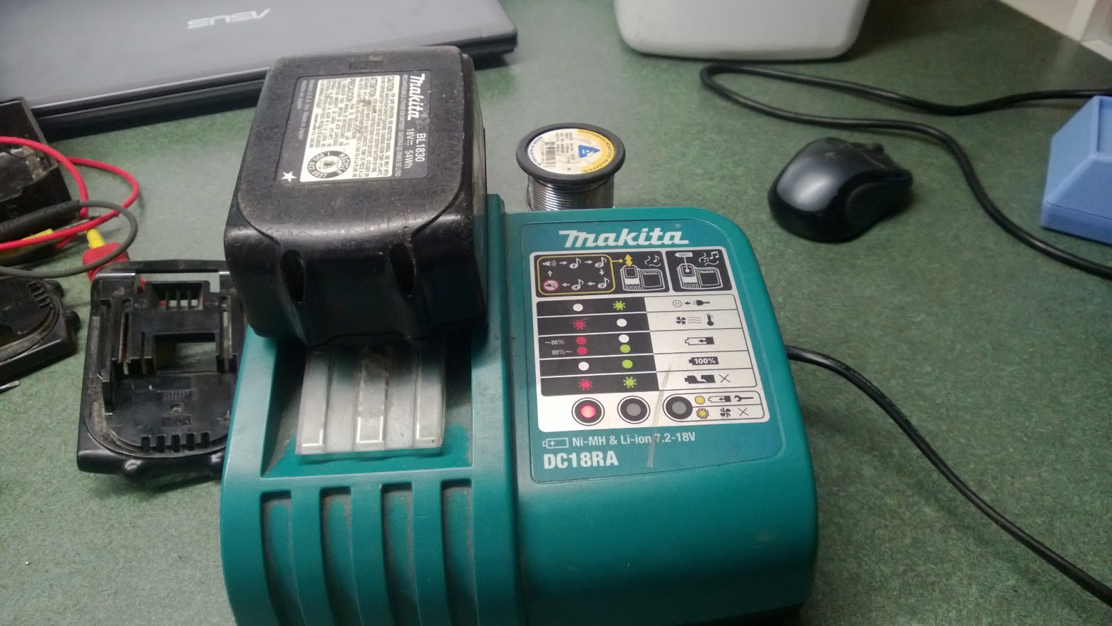 Makita Bl 1830 Battery Repair Fusible Link 18 Volt Wiring Diagram Hopefully Your Pack Comes Back Up To Full Voltage And Runs For Many More Cycles Giving The Tools Customer Satisfaction They Deserve