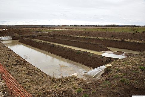 Bassins de retention enterr s cours g nie civil outils livres exercices et vid os - Terrassement bassin de retention ...