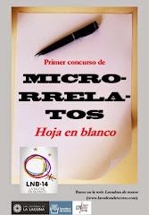 FINALISTA Primer Concurso de Microrrelatos Hoja en Blanco