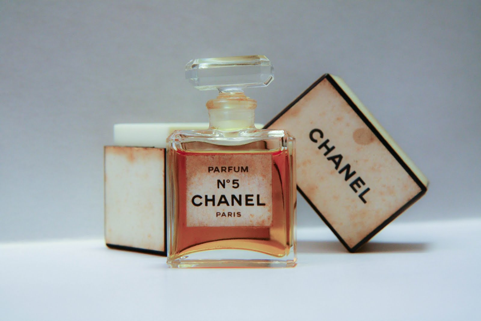 Garden Fairy & Cookie Monster: An Old Chanel No.5 perfume bottle
