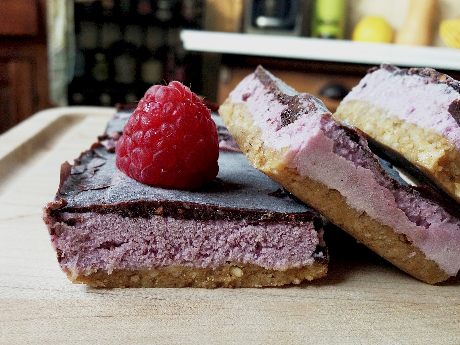 made to create raw peanut butter jelly ice cream bars. Black Bedroom Furniture Sets. Home Design Ideas