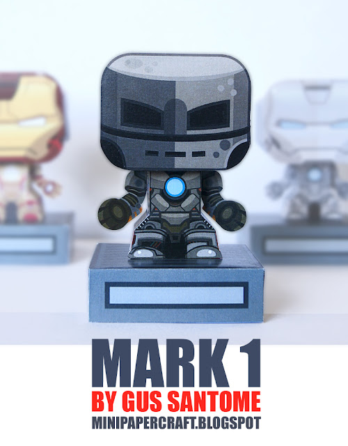 Mini Mark 1 Paper Toy