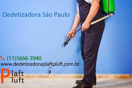 Dedetizadora São Paulo - Dedetizadora Plaft Pluft