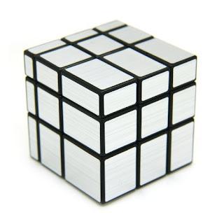Shengshou Silver Mirror Cube