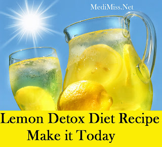 Lemon Detox Diet Recipe - Make it Today