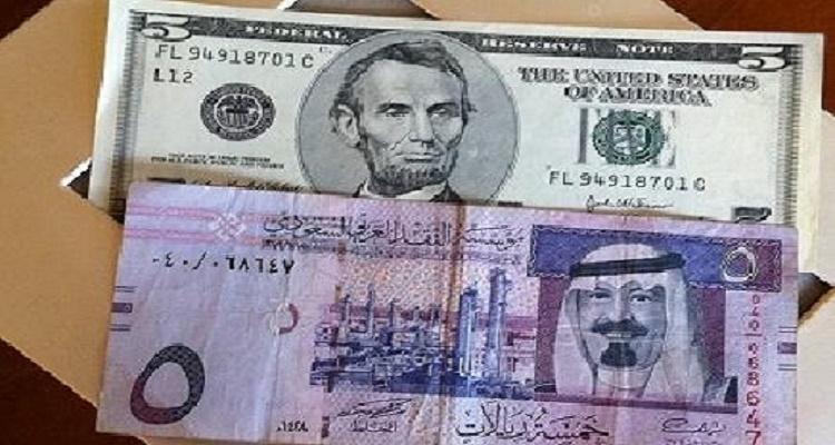 سعر الدولار في السعودية اليوم الأربعاء 20-1-2016