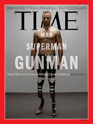 TIME Magazine Cover: Oscar Pistorius