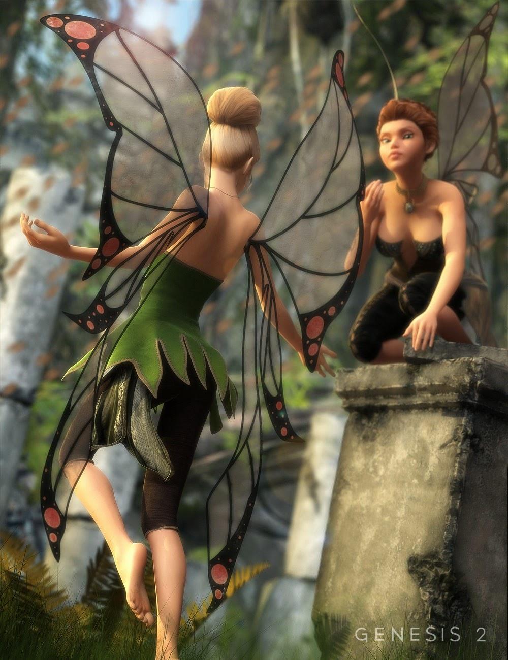 Ailes de fées pour Giselle 6
