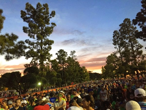 2015 LA Marathon starting corrals