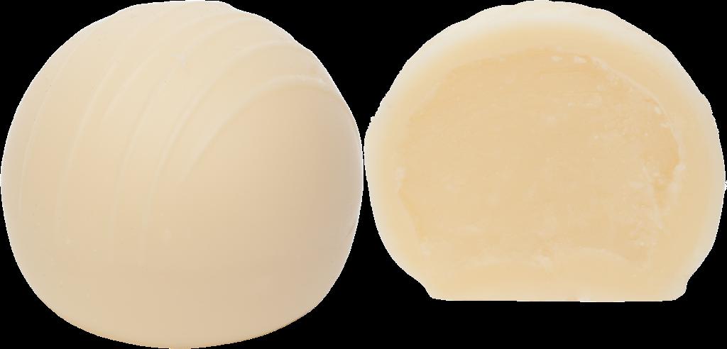 Bachhalm Praline Schokomoussetrüffel weiß 13g