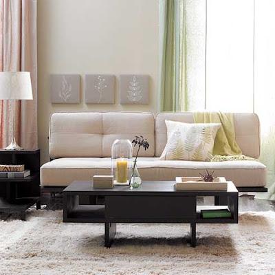 Romantic Living Room Design